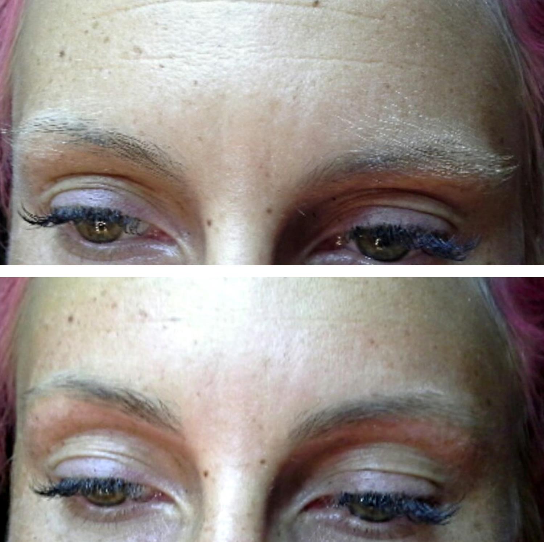 Augenbrauen Vorher Nachher